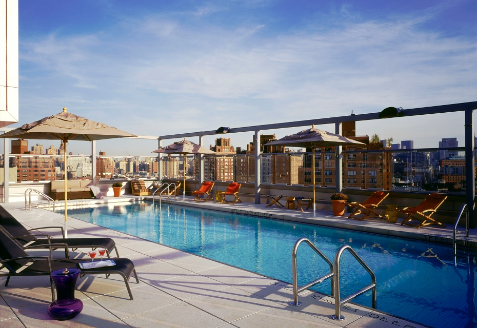 Pool Party Paradise at the Gansevoort