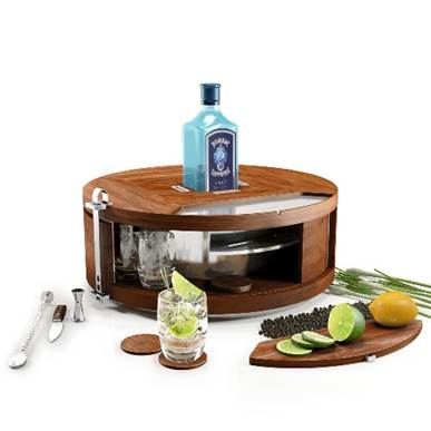 Limited Edition Gin Wheel Makes At-Home Bartending a Breeze