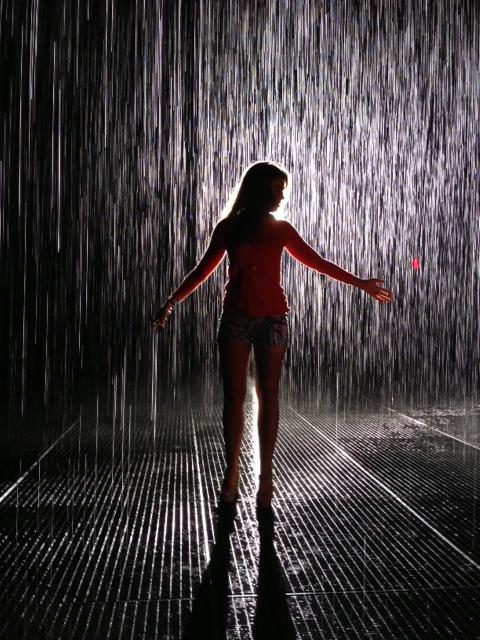 Revert to Childhood at The Rain Room
