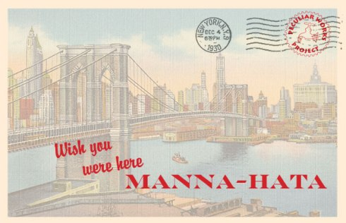 Manna-Hata Takes Live Theater To Manhattan's Roots, Literally