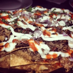 Roasted Lamb Nachos